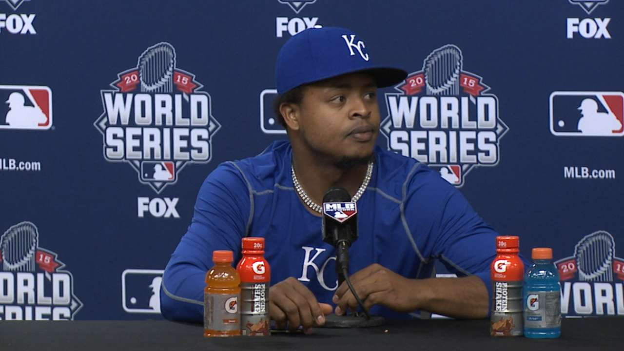 Volquez on pitching in Game 5