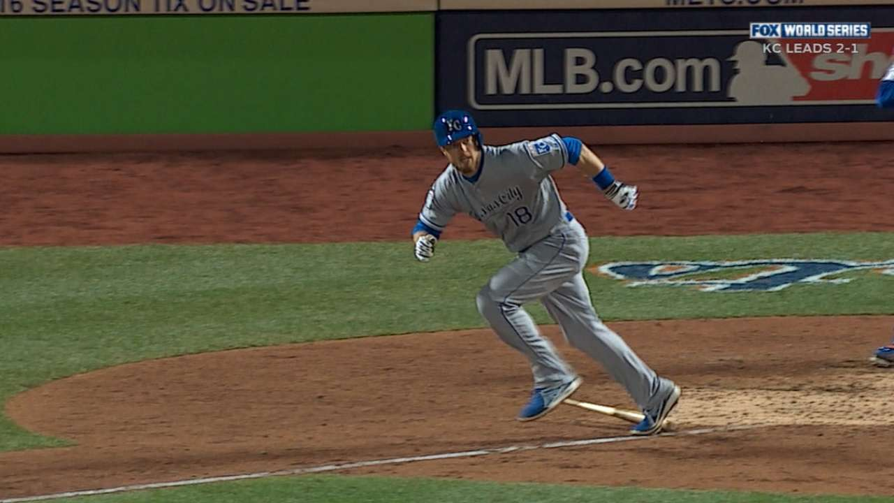 Zobrist ties record for doubles