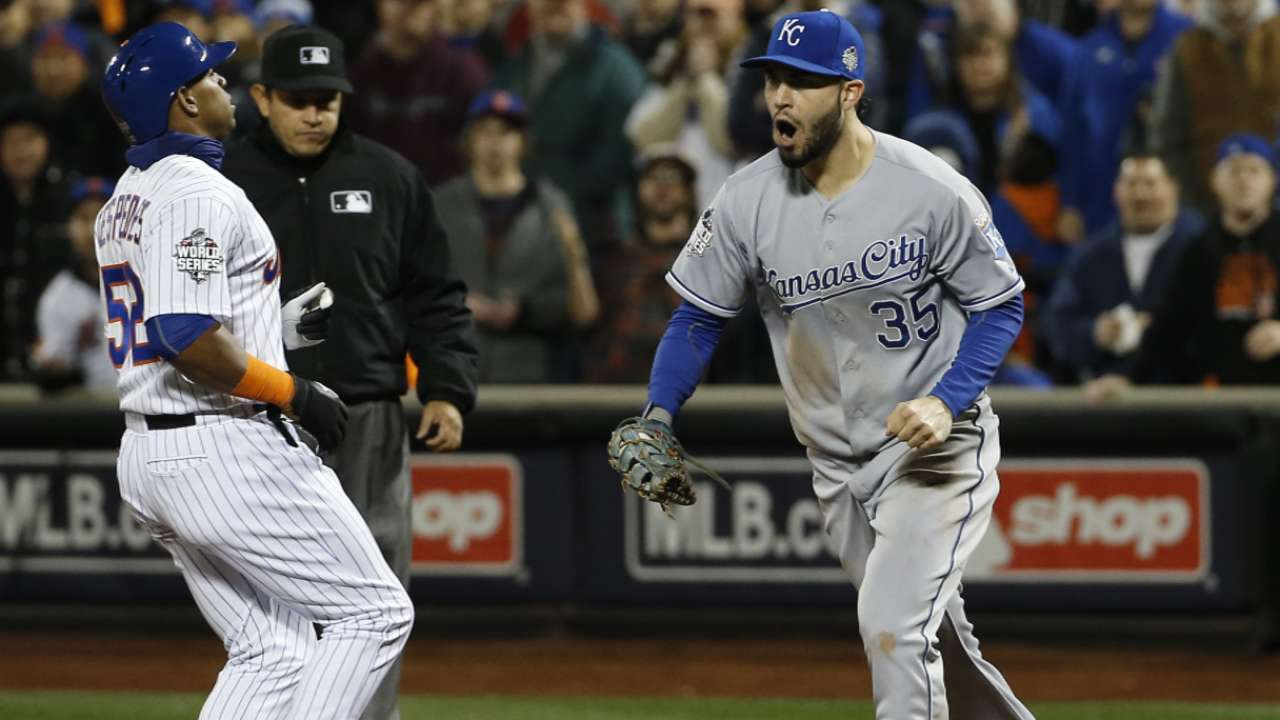 Moustakas on game-ending DP
