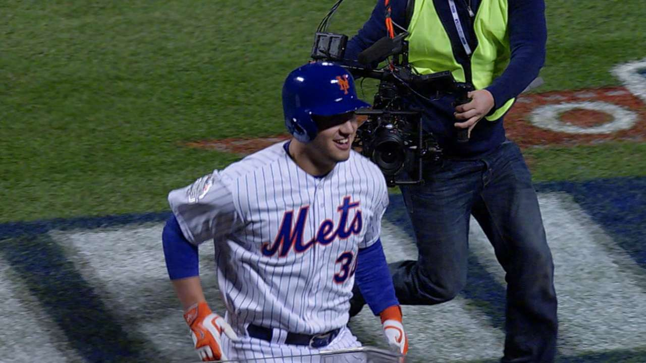 Conforto on two-homer game
