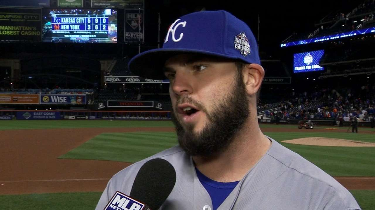 Royals on being one win away
