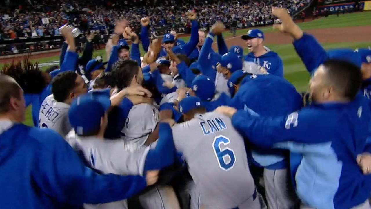 Royals' brand of baseball evident through the end