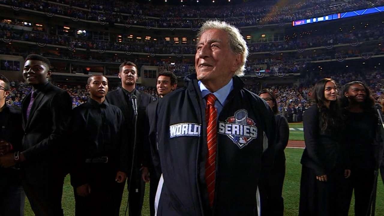 Singer Bennett, champion Mets ring in Game 5