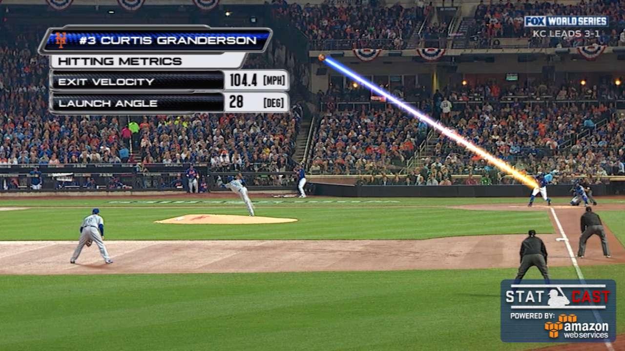 Statcast: Granderson's solo shot