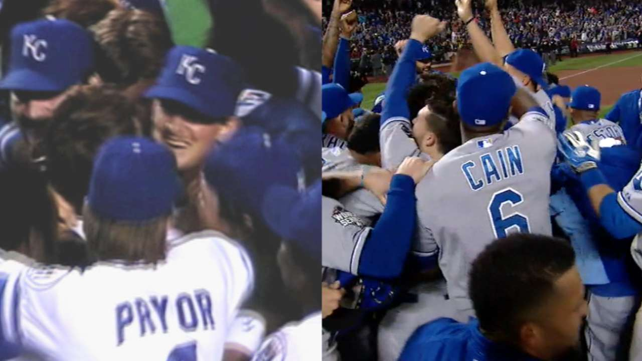 Royals earn praise from '85 champions