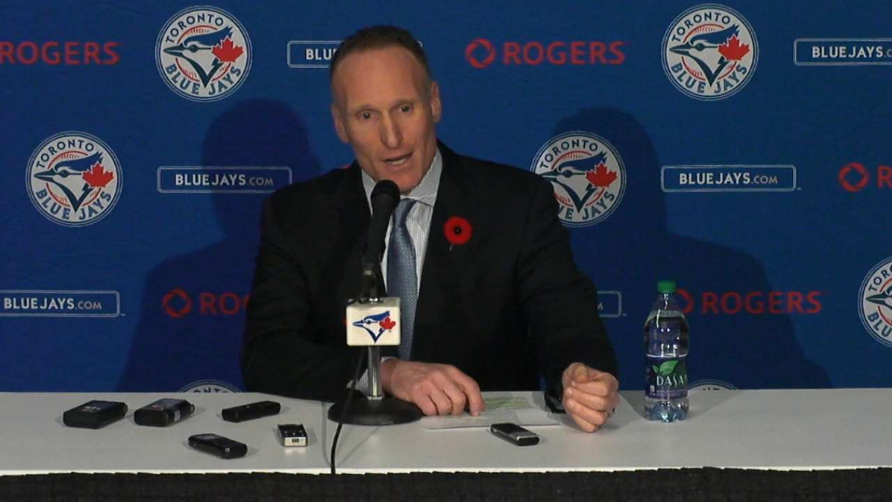 Shapiro introduced as Blue Jays president