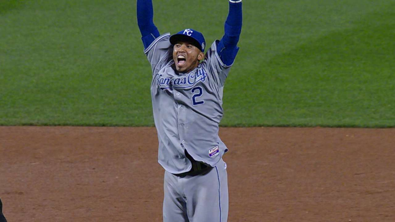 No. 2 spot one of lone uncertainties in Royals' lineup