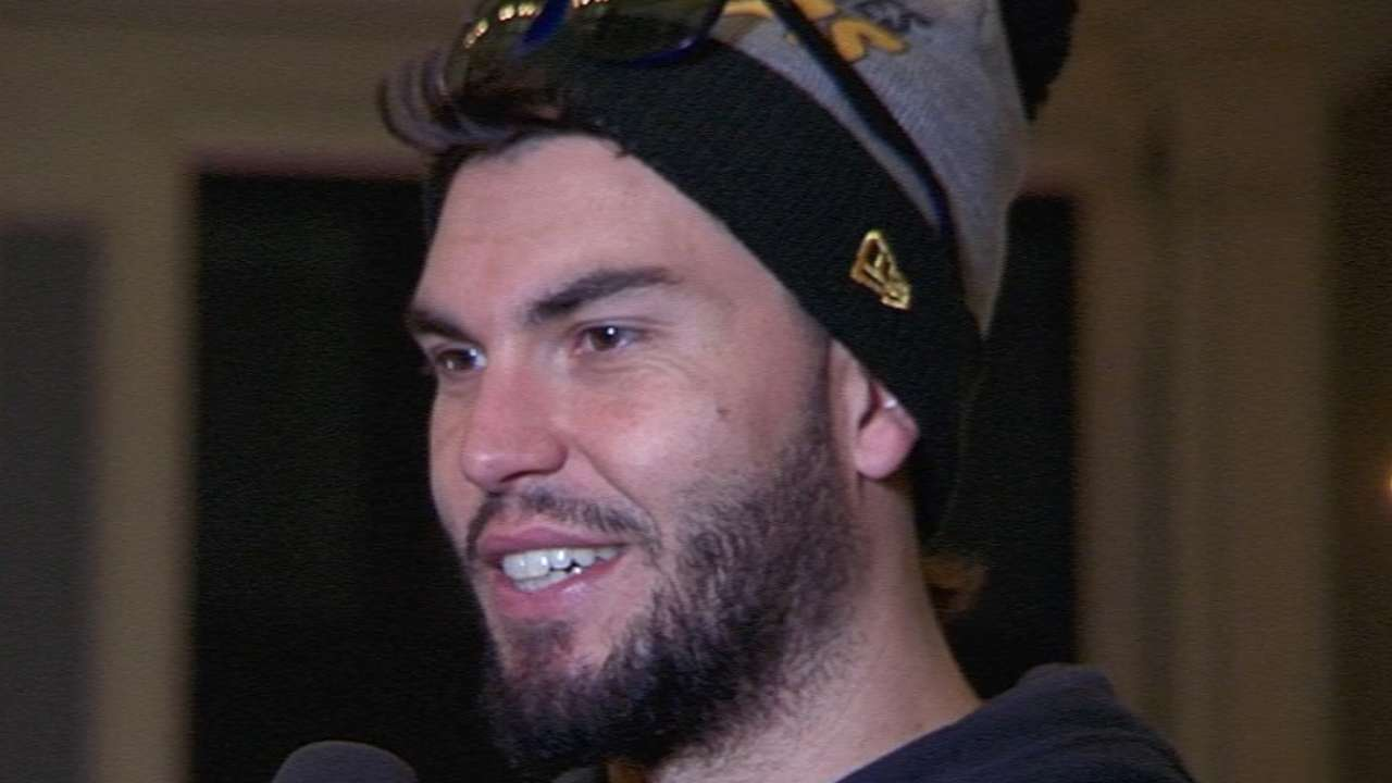 Hosmer excited to win title