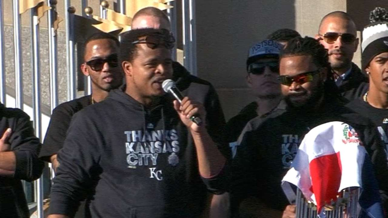 Volquez out to honor father with another title