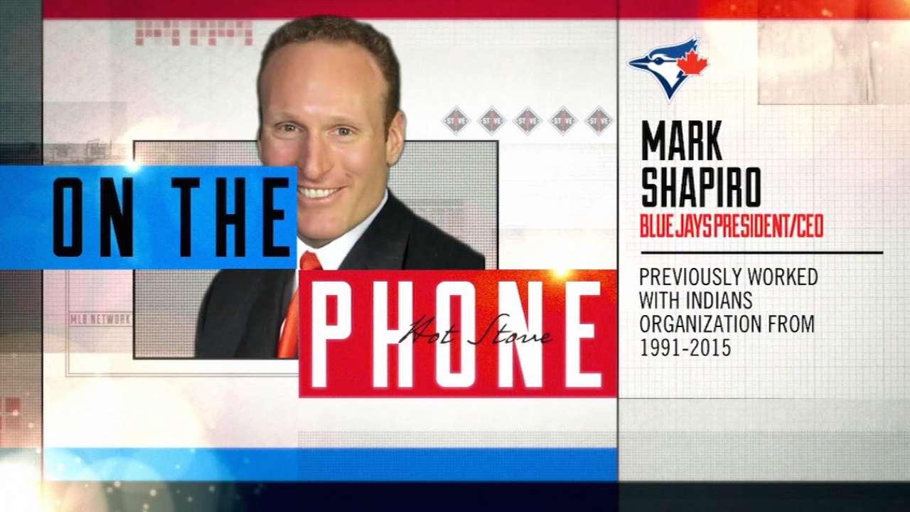 Hiring full-time GM Shapiro's top priority