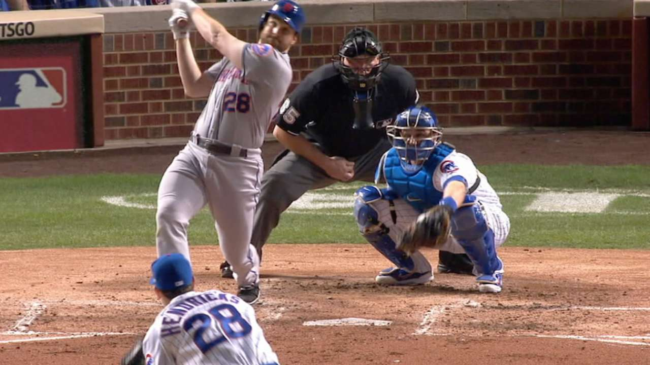 Murphy homers in fifth straight
