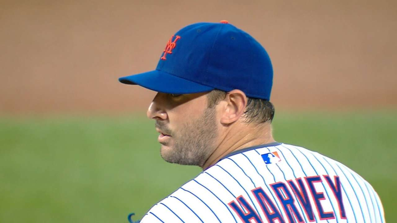 Harvey wins NL Comeback Award