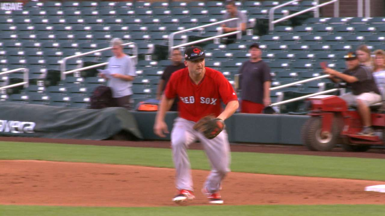 Boston's Travis launches walk-off in AFL action