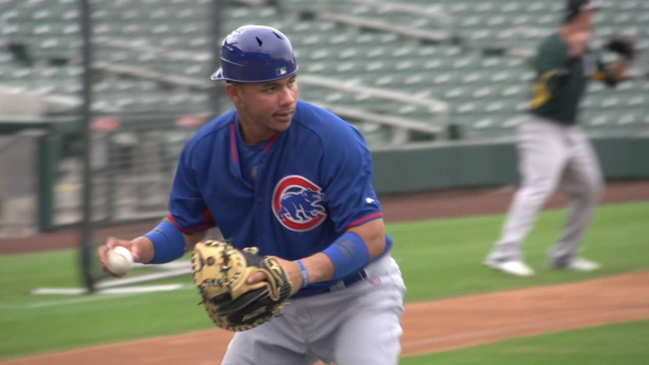 Hammy strain ends Contreras' time in AFL
