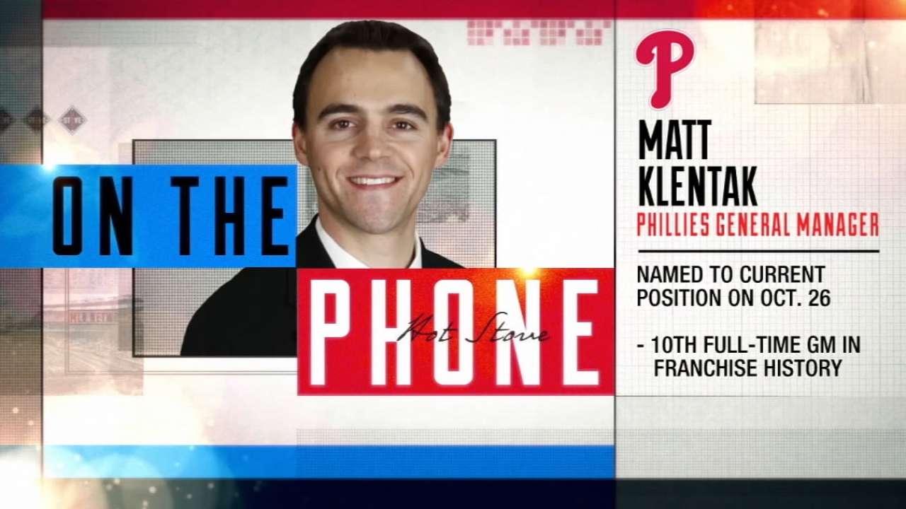 GM Matt Klentak on joining Phils
