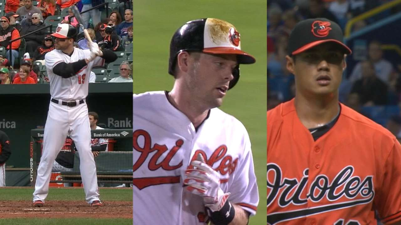 O's give qualifying offers to Chen, Davis, Wieters