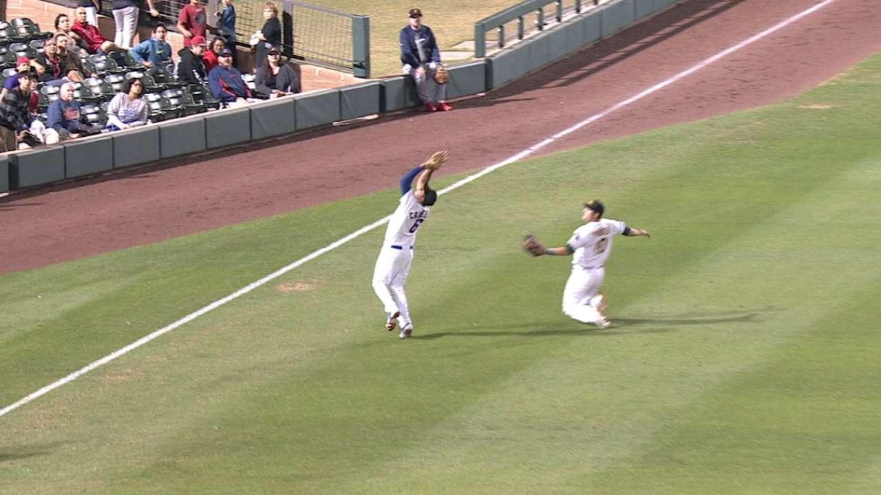 Candelario's terrific catch
