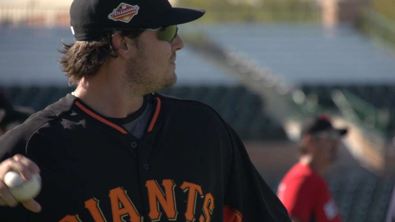 Giants looking to farm system to replenish bullpen