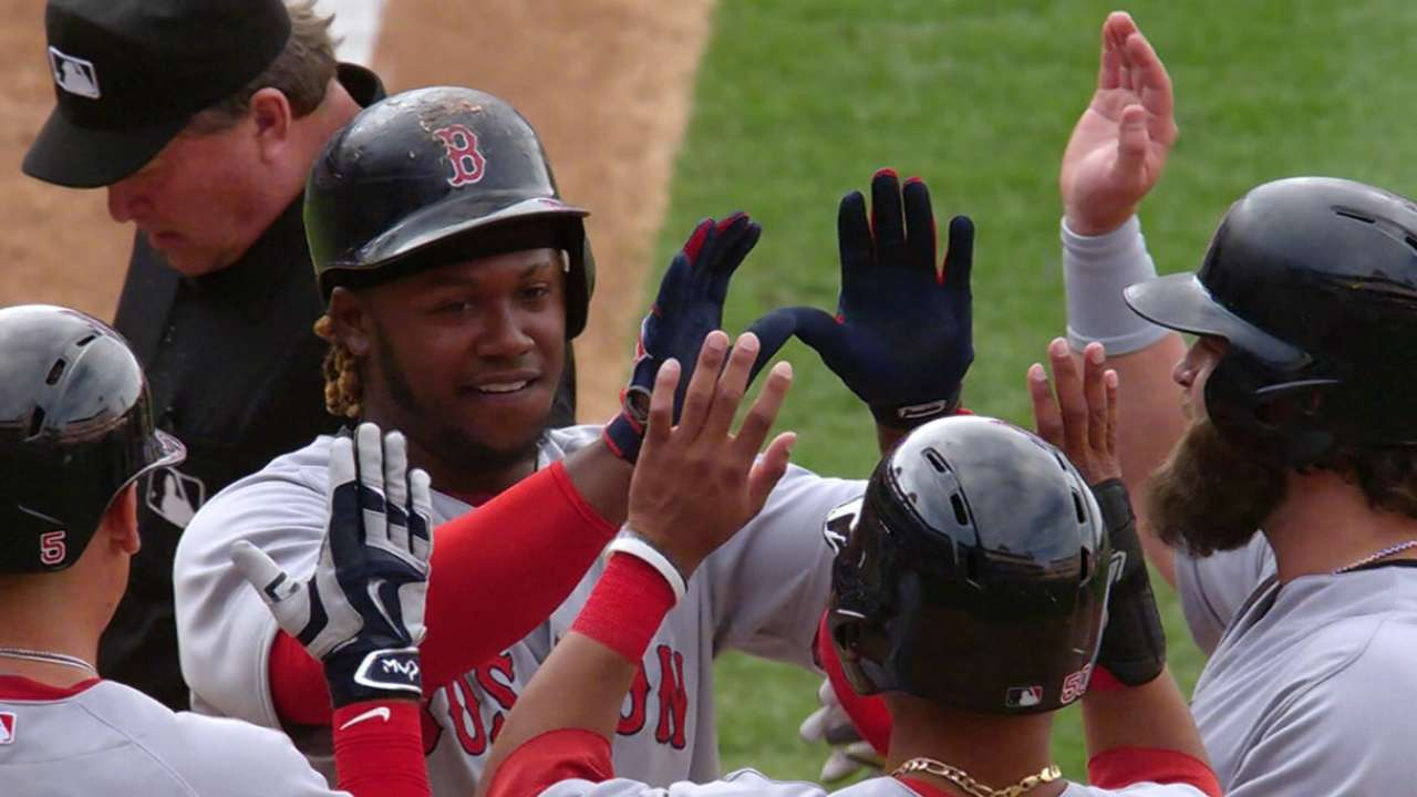 Dombrowski, Hanley have 'great' meeting
