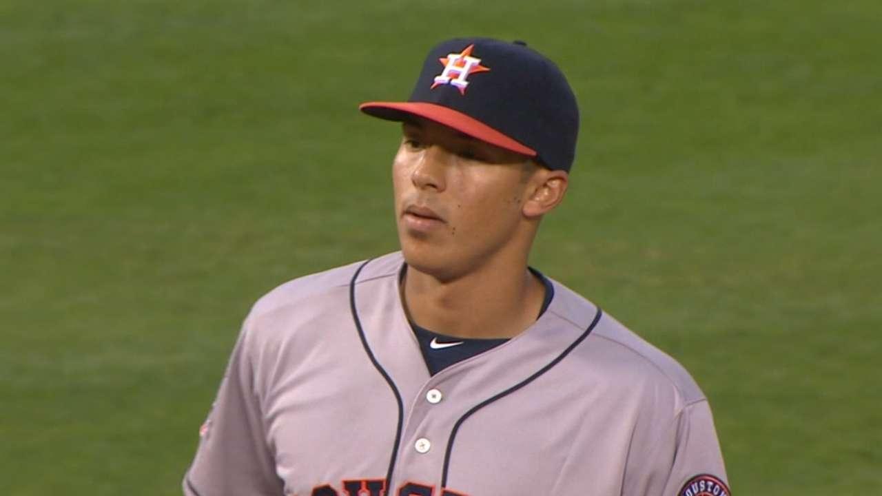 AL Outstanding Rookie: Correa