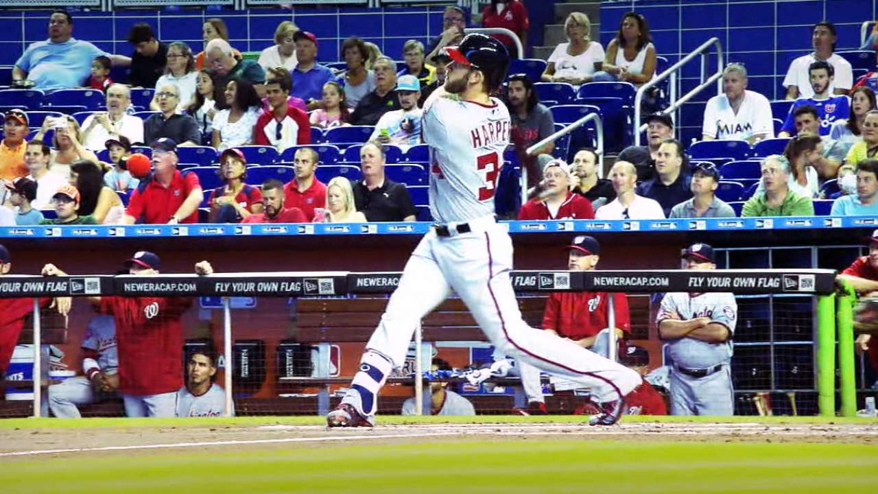 Harper named NL's Most Outstanding Player