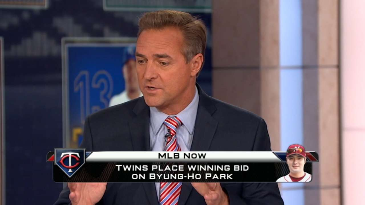 MLB Now on Twins, Byung Ho Park