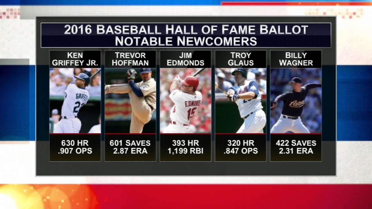 Hot Stove on 2016 Hall of Fame