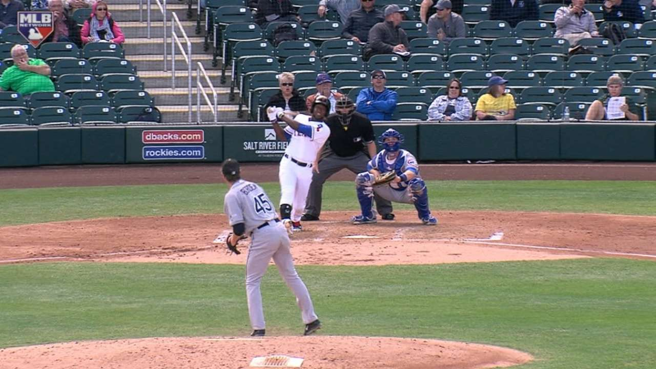 Rangers' Profar goes yard in Fall League action