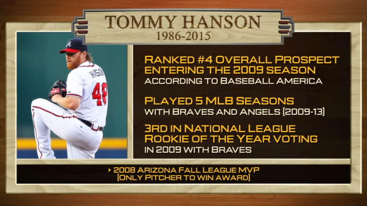 AFL Remembers Tommy Hanson