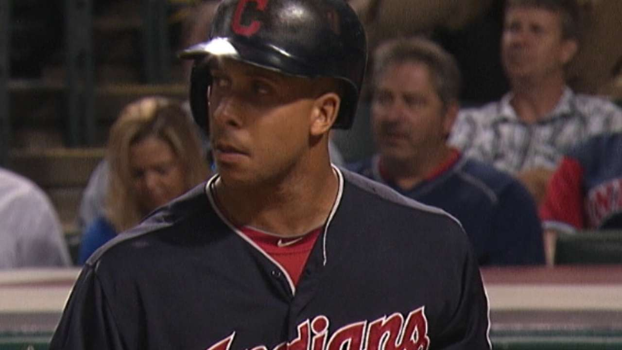 Tribe looks at outfield market with new urgency
