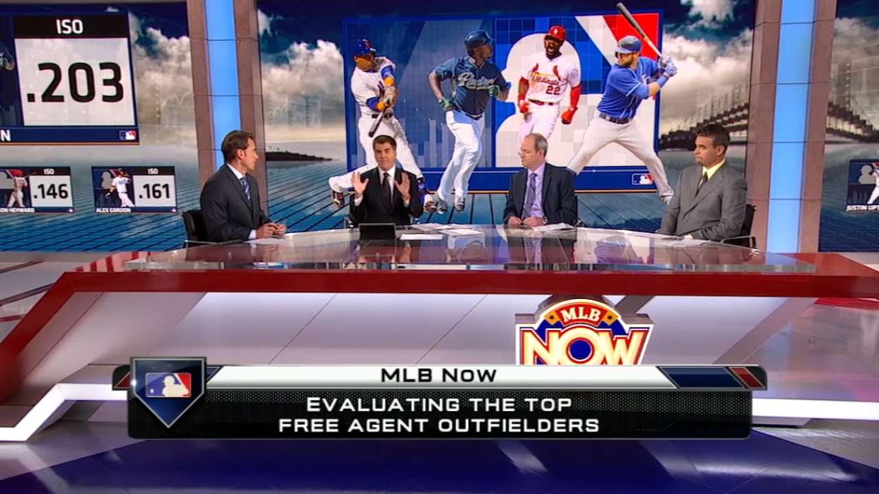 MLB Now: Free agent outfielders