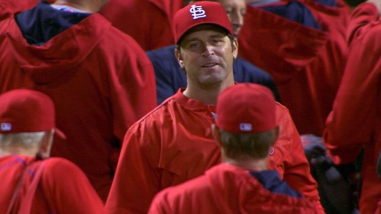 Matheny a finalist for BBWAA NL Manager of the Year