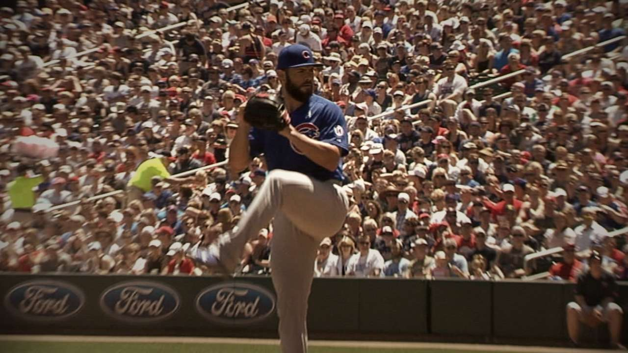 Boras on Arrieta's '15: He 'put it all together'