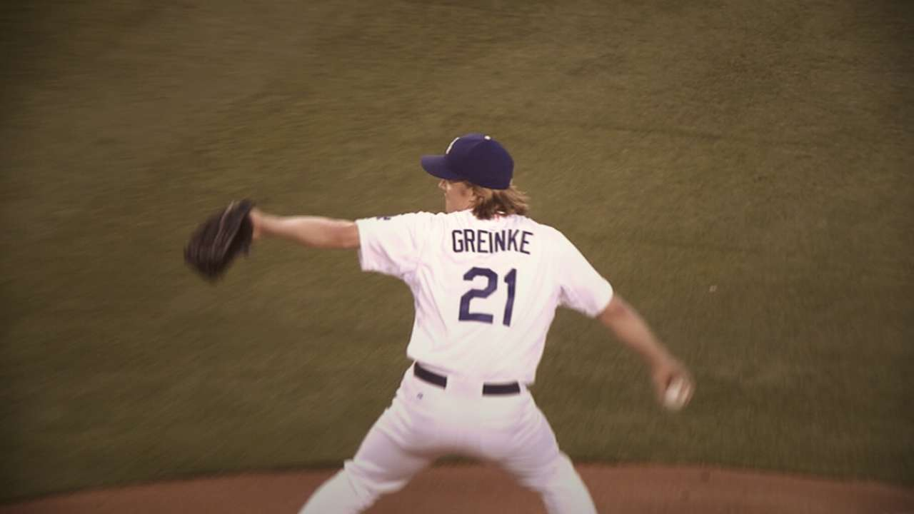 Greinke, Kershaw named NL Cy Young finalists