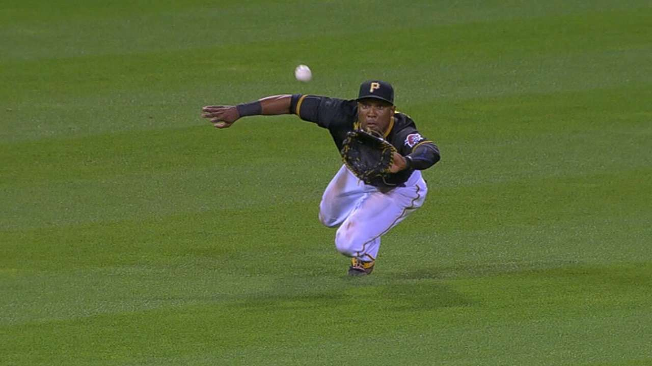 Marte recognized for defensive excellence