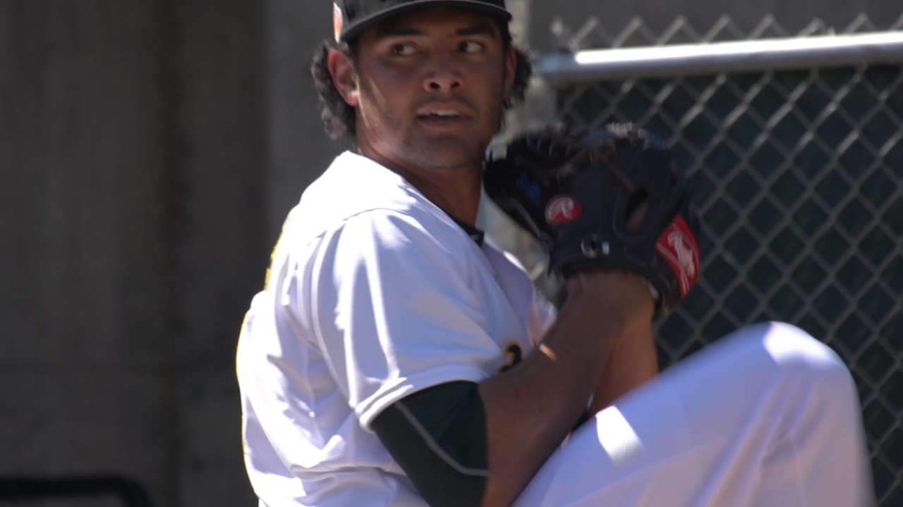 A's Manaea named AFL Pitcher of the Week