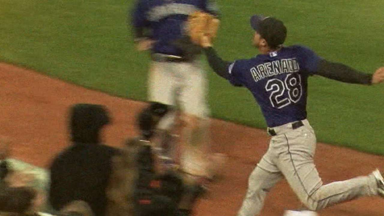 Arenado assumes mantle as face of franchise