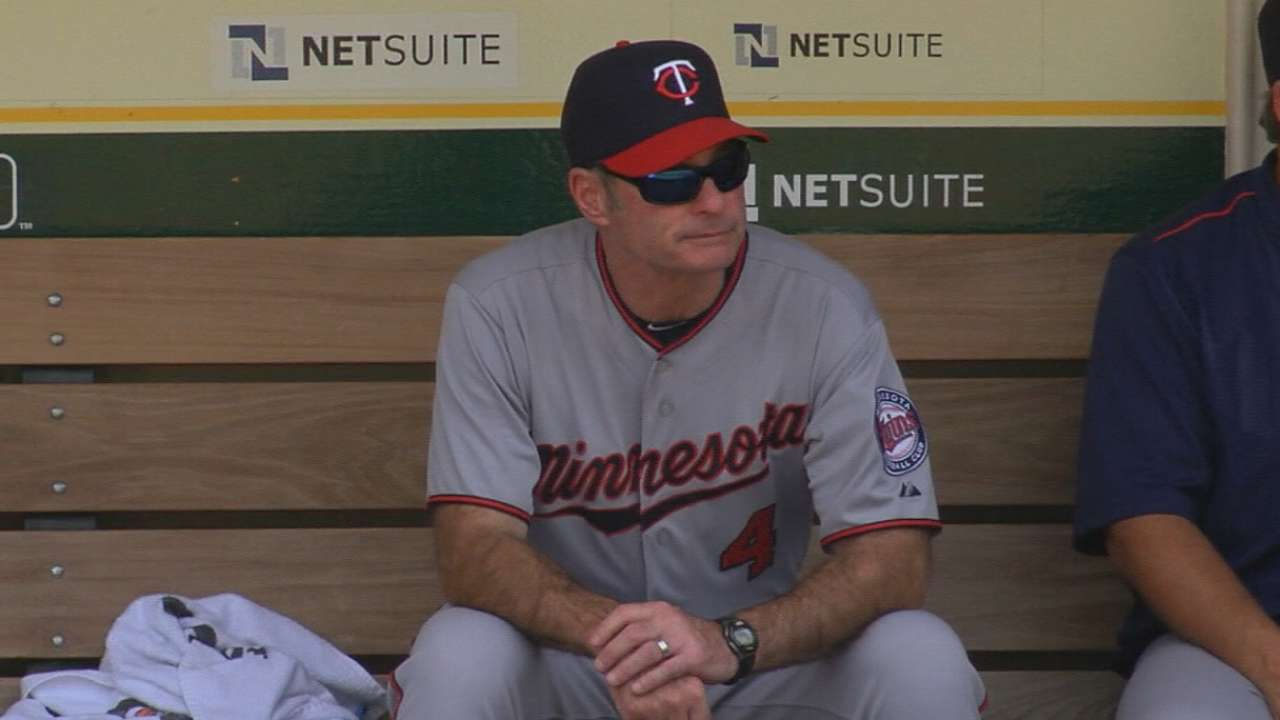 Twins' turnaround gives Molitor AL MOY chance