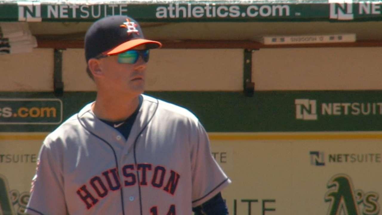 Astros' rebirth a testament to MOY finalist Hinch