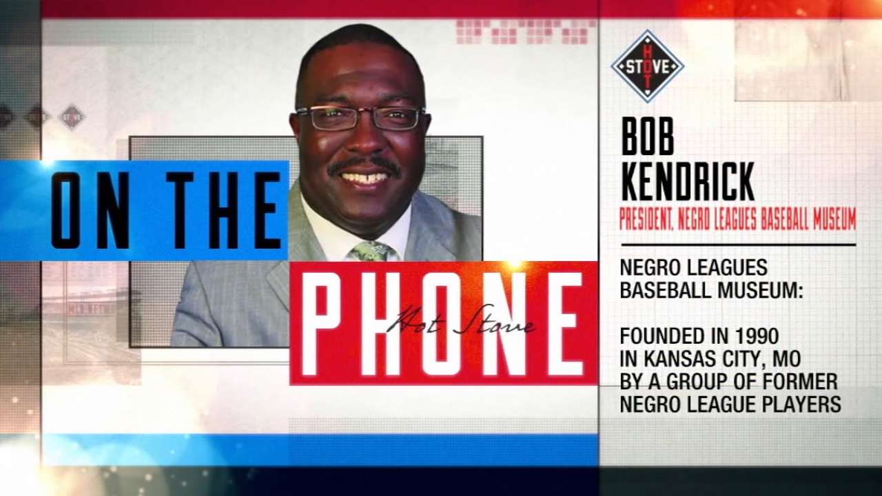 Bob Kendrick calls Hot Stove