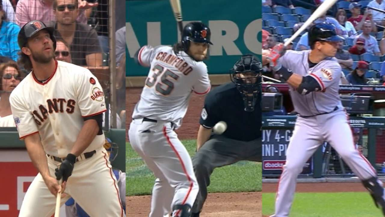 Posey, Crawford, MadBum win Silver Slugger Awards
