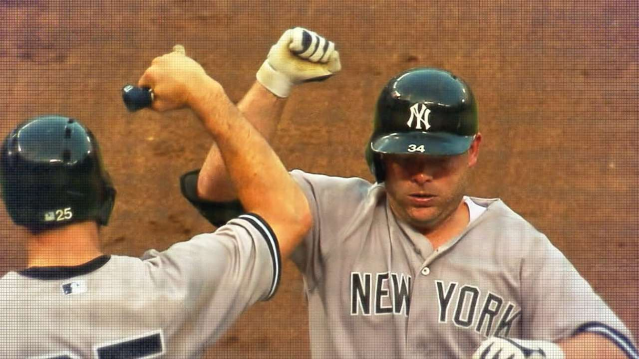 Around the Horn: McCann anchors home plate