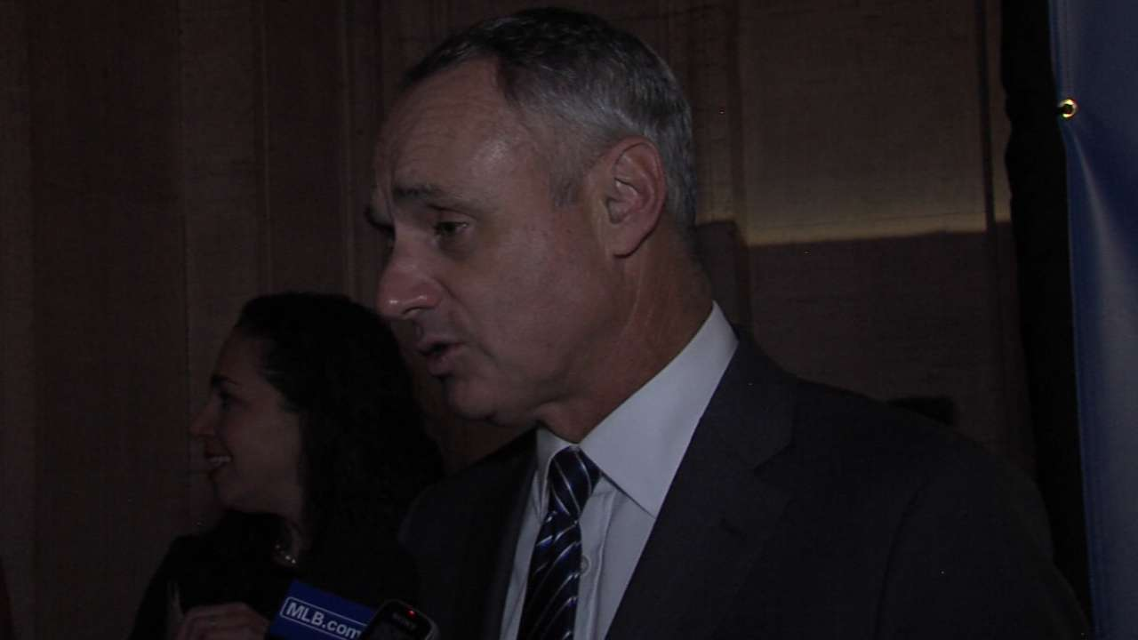 Manfred proud of MLB's advancing technology