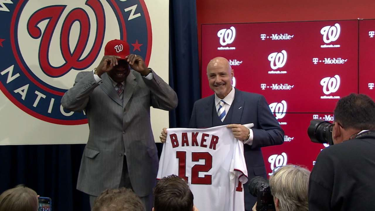 Speier may reunite with Baker on Nats' staff