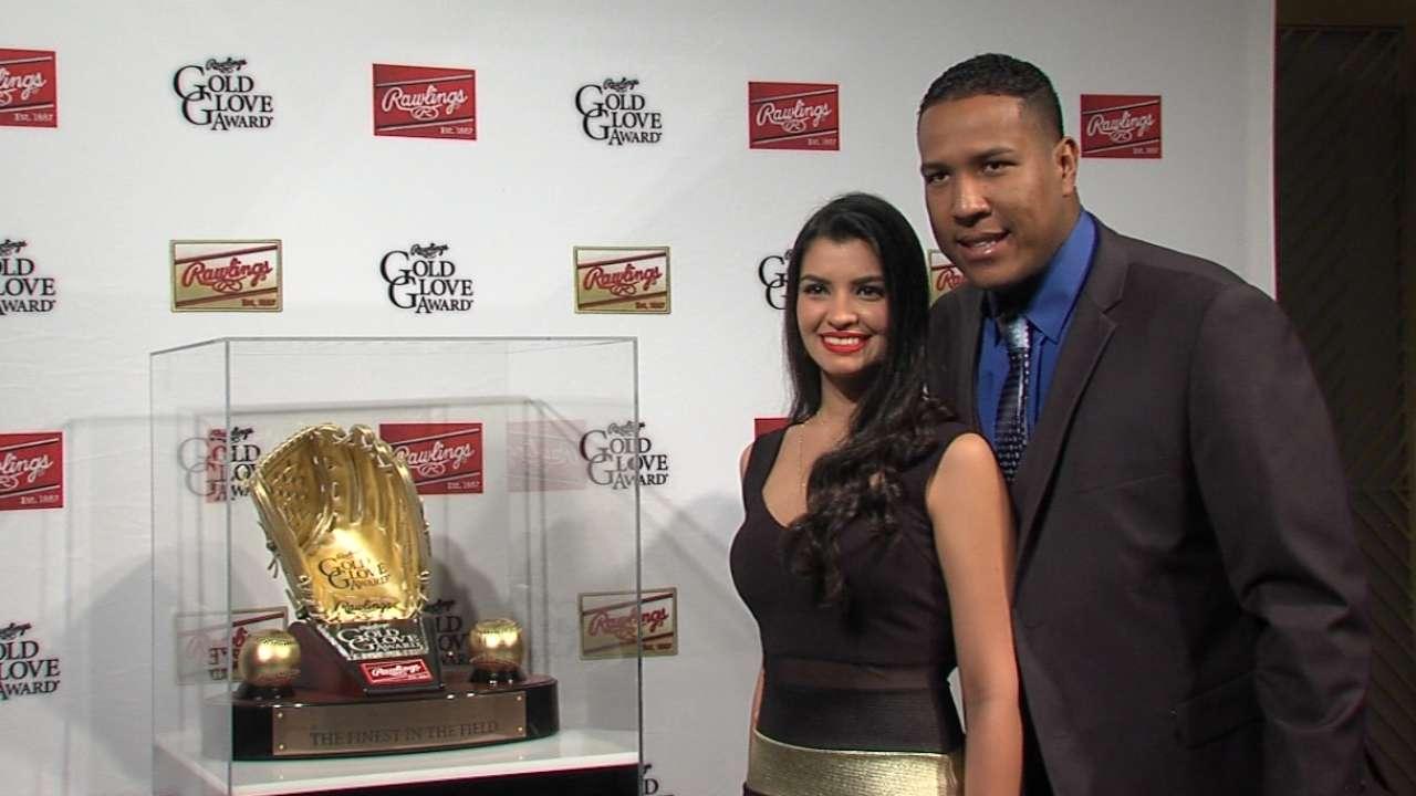 Perez on third Gold Glove Award