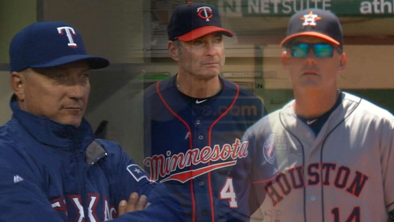 AL Manager of the Year Finalists
