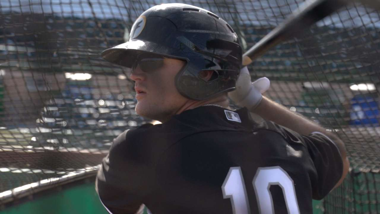AFL batting leader Engel rounds out his game
