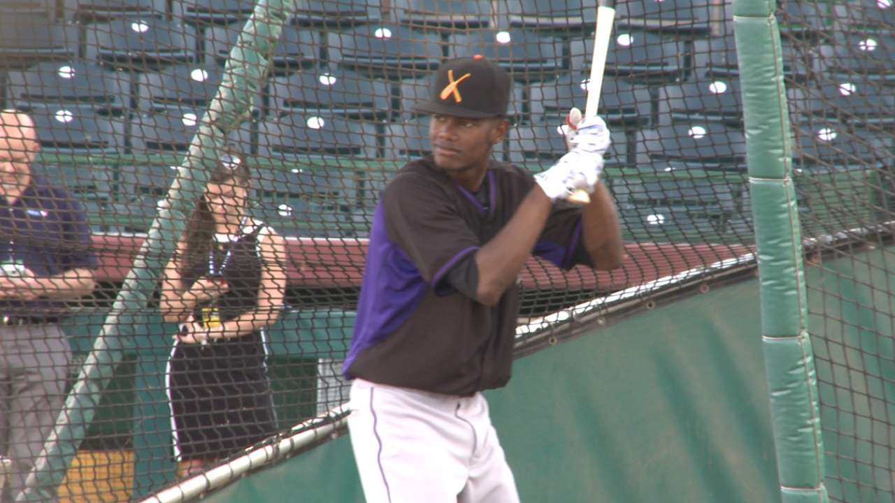 Rockies' Tapia could be dynamic