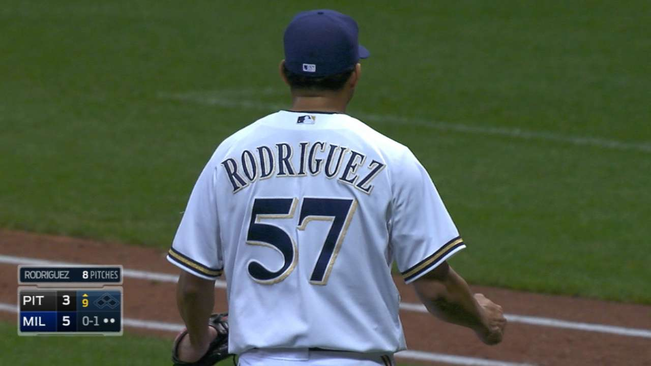 Tigers get K-Rod from Brewers to be closer