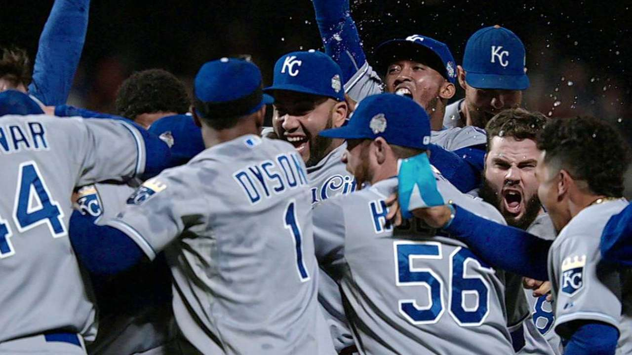 Mighty KC! Royals rise in 9th, rule the World